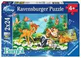 Mijn vriendje Bambi Puzzels;Puzzels voor kinderen - Ravensburger