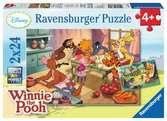 Bakken en feesten met Winnie Puzzels;Puzzels voor kinderen - Ravensburger