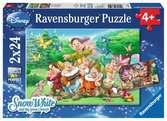 7 Dwergen Puzzels;Puzzels voor kinderen - Ravensburger