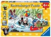 Urlaub mit Maulwurf und seinen Freunden Puzzle;Kinderpuzzle - Ravensburger