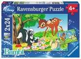 Bambi en z n vriendjes Puzzels;Puzzels voor kinderen - Ravensburger