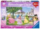 DPR Magical Princesses 2x24p Puslespill;Barnepuslespill - Ravensburger