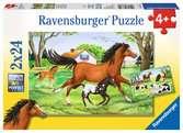 World of Horses Puslespill;Barnepuslespill - Ravensburger