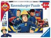 Puzzles 2x24 p - Sam t aide dans le besoin / Sam le pompier Puzzle;Puzzle enfant - Ravensburger