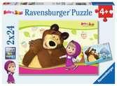 Masha et Michka Puzzle;Puzzle enfant - Ravensburger