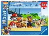 Dappere honden Puzzels;Puzzels voor kinderen - Ravensburger