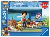 Puzzle 2x24 p - Des museaux efficaces / Pat Patrouille Puzzle;Puzzle enfant - Ravensburger
