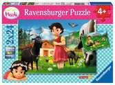 Heidi en los Alpes Puzzles;Puzzle Infantiles - Ravensburger