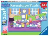 Peppa in der Schule Puzzle;Kinderpuzzle - Ravensburger