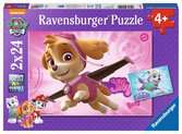 Paw Patrol, Skye and Everest 2x24pc Puzzles;Children s Puzzles - Ravensburger