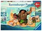 Puzzles 2x24 p - Vaiana et ses amis / Disney Puzzle;Puzzles enfants - Ravensburger