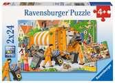WIELKIE SPRZĄTANIE 2X24 EL Puzzle;Puzzle dla dzieci - Ravensburger
