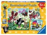 Unterwegs mit dem Maulwurf Puzzle;Kinderpuzzle - Ravensburger
