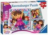 L aventure n attend pas ! / Dora & Friends Puzzle;Puzzle enfant - Ravensburger