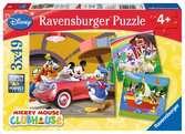 Iedereen houdt van Mickey Puzzels;Puzzels voor kinderen - Ravensburger