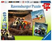 AXION,LEXION,XERION 3X49 EL. Puzzle;Puzzle dla dzieci - Ravensburger