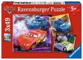 DI: AUTA PUZZLE 3X49 EL. Puzzle;Puzzle dla dzieci - Ravensburger