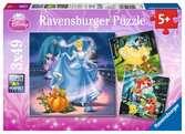 Blancanieves, Cenicienta, La Sirenita Puzzles;Puzzle Infantiles - Ravensburger
