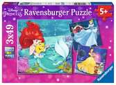 Disney Princess 3x49pc Puzzles;Children s Puzzles - Ravensburger