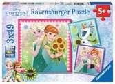 L hiver d Elsa / La Reine des Neiges Puzzle;Puzzle enfant - Ravensburger