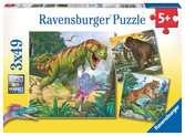 Primeval Ruler            3x49p Puslespill;Barnepuslespill - Ravensburger