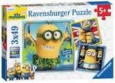 Minions 3x49pc Puzzles;Children s Puzzles - Ravensburger