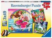 Fantasy Friends Jigsaw Puzzles;Children s Puzzles - Ravensburger