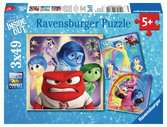 Disney Inside Out 3x49pc Puzzles;Children s Puzzles - Ravensburger