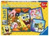 Spaß mit SpongeBob Puzzle;Kinderpuzzle - Ravensburger