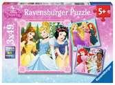 Princess 3 x 49pc Puzzles;Children s Puzzles - Ravensburger