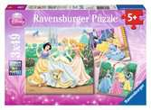 DI:KSIĘŻNICZKI 3X49 EL. Puzzle;Puzzle dla dzieci - Ravensburger