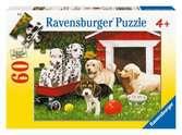 IMPREZA SZCZENIACZKÓW 60EL Puzzle;Puzzle dla dzieci - Ravensburger