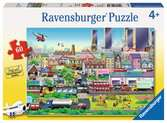 Busy Neighborhood Jigsaw Puzzles;Children s Puzzles - Ravensburger