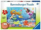 PODWODNE OPOWIEŚCI 60 EL Puzzle;Puzzle dla dzieci - Ravensburger