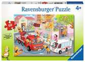 Firefighter Rescue! 60p Jigsaw Puzzles;Children s Puzzles - Ravensburger