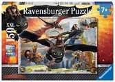 DRAGONS: OSWOJONE SMOKI 150 EL Puzzle;Puzzle dla dzieci - Ravensburger