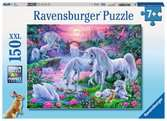 Unicorns in the Sunset Glow 150pc Puslespil;Puslespil for børn - Ravensburger