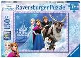 Puzzle 150 p XXL - Les amis au palais / La Reine des Neiges Puzzle;Puzzles enfants - Ravensburger