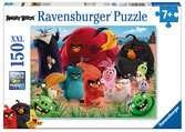 Agitation dans l île / Angry Bird Puzzle;Puzzle enfant - Ravensburger