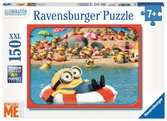 Gele vrienden Puzzels;Puzzels voor kinderen - Ravensburger