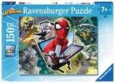 Puzzle 150 p XXL - Amis et ennemis / Spider-man Puzzle;Puzzles enfants - Ravensburger