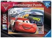 Rasantes Rennen Puzzle;Kinderpuzzle - Ravensburger