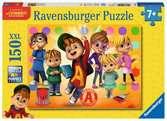 Alvin en z'n vrienden Puzzels;Puzzels voor kinderen - Ravensburger