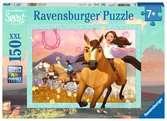 Puzzle 150 p XXL - Sauvage et libre / Spirit Puzzle;Puzzles enfants - Ravensburger