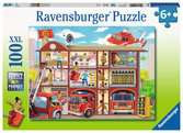 Firehouse Frenzy Jigsaw Puzzles;Children s Puzzles - Ravensburger