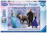 Puzzle 100 p XXL - Dans le royaume de La Reine des Neiges / Disney Puzzle;Puzzle enfant - Ravensburger
