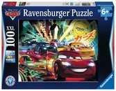 SAMOCHODY NEON 100 EL   14 Puzzle;Puzzle dla dzieci - Ravensburger