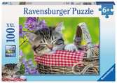 Sleeping Kitten Jigsaw Puzzles;Children s Puzzles - Ravensburger
