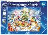 Puzzle 100 p XXL - Disney Christmas Puzzle;Puzzles enfants - Ravensburger
