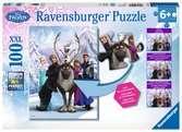 FROZEN DIFFERENCE 100 EL Puzzle;Puzzle dla dzieci - Ravensburger